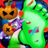 Игра Безумный Доктор для Ног на Хэллоуин