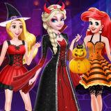 Игра Принцессы Хэллоуин: Сюрприз Подарок