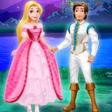 Игра Пойманная Принцесса: Макияж