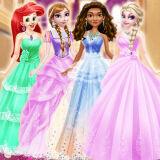 Игра Принцессы: Бальные Платья