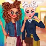 Игра Девочки Гики: Одевалки и Макияж