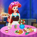 Игра Принцесса Ариэль: Приготовление Завтрака 1