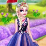 Игра Цветочная Мода Эльзы