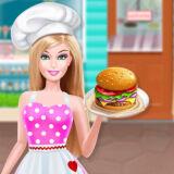 Игра Ресторан Быстрого Питания Барби