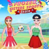 Игра Холодные Сестры: Спортивный Стиль