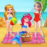 Игра Лучшие Друзья: Летний Пляжный Пикник
