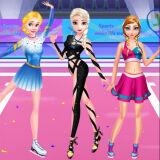 Игра Одевалка Спортивных Принцесс