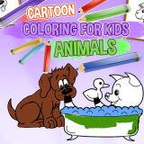 Игра Мультяшная Раскраска Для Детей - Животные