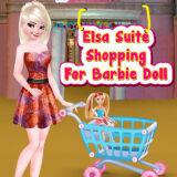 Игра Эльза: Люкс Покупки Для Куклы Барби