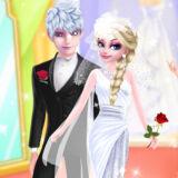 Игра Любовь Эльзы и Джека: Свадебные Фотографии