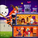 Игра Праздничный Замок Принцессы к Хэллоуину