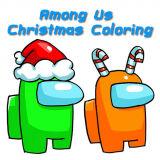 Игра Амонг Ас: Рождественская Раскраска