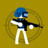 Игра Стикмен: Снайпер в Окне Дома