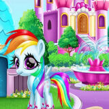 Игра Раскраска Чудо-Пони