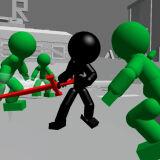 Игра Стикмен Бой на Мечах 3Д