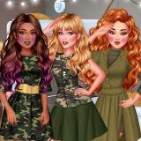 Игра Принцессы: Армейский Стиль