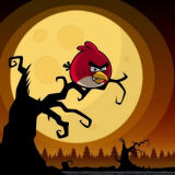 Игра Злые Птички: Хэллоуин