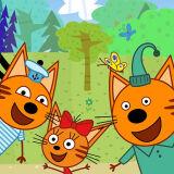 Игра Три Кота: Пикник с Семейством Котов