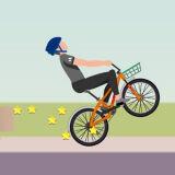 Игра Велосипедист на Колесах