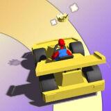 Игра Скользкая Автомобильная Гонка