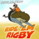 Игра Обычный мультик: Поездка Ригби