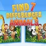 Игра Найди Семь Отличий: Животные