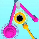Игра Цветная Веревка 3D Головоломка