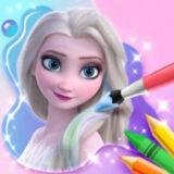 Игра Книжка-Раскраска Для Эльзы