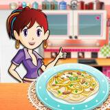 Игра Кухня Сары: Феттуччини Альфредо