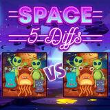 Игра Космос: 5 Различий