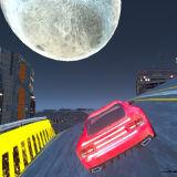 Игра Киберпанк: Трюки Автомобиля в Городе