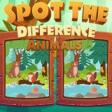 Игра Найди Отличия: Животные