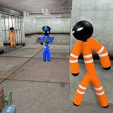 Игра Побег Стикмена из Тюрьмы