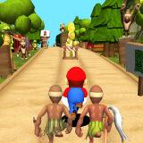 Игра Марио: Бег в Джунглях