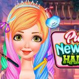 Игра Принцесса: Новая Прическа