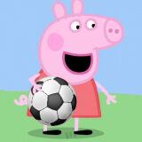 Игра Свинка Пеппа: Футбол