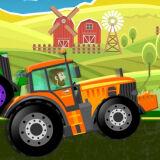 Игра Чокнутые Тракторы