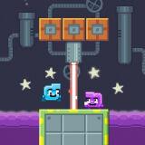 Игра Бип и Пип: Лазерная Лабаратория