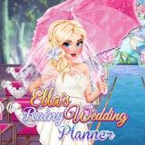 Игра Дождливый Свадебный Планировщик Эллы
