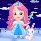 Игра Малышка Хейзел: Ледяная Принцесса