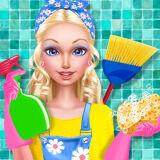 Игра Модная Уборка Кукольного Домика